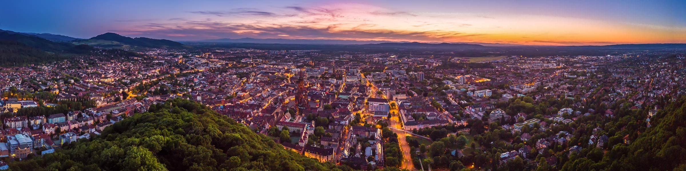 Freiburg-Panorama Bürotechnik Rombach